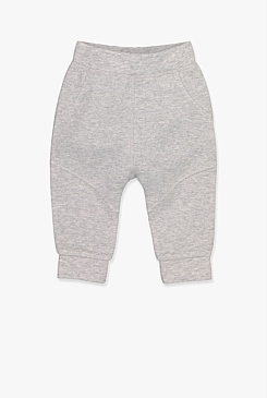 Double Faced Pique Track Pant