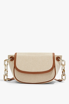 Chain Handle Crossbody Bag
