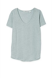 Short Sleeve Linen T-shirt