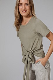 Side Tie T-Shirt