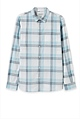 Regular Double Large Check Shirt