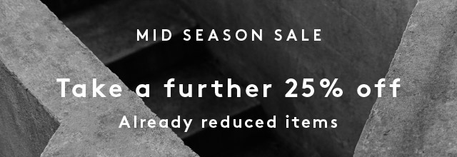 Mid Season Sale - Shop Sale