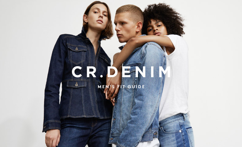 CR.Denim - We've perfected our fits: choose from slim, tapered, skinny and standard. In a range of washes and premium fabrications; it's time to find your favourite pair.