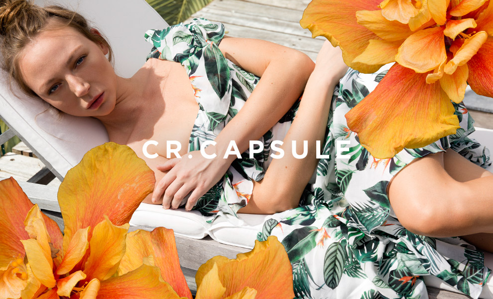 CR.CAPSULE - Introducing a limited edition collection of never to be repeated styles. Unique and directional, the range emphasises design, fabrications and silhouettes. - Shop CR.CAPSULE