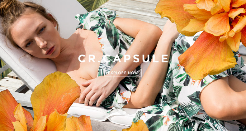 CR.CAPSULE - Introducing a limited edition collection
