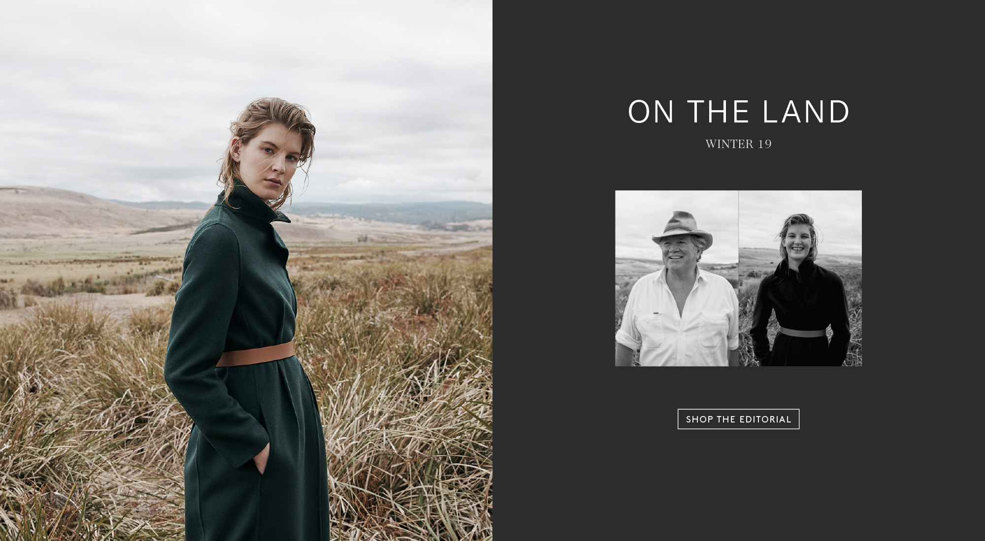 On The Land - Winter 19 - Shop The Editorial
