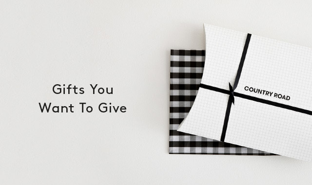 Gifts You Want To Give