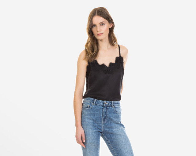 How To Wear - The Crop Frayed Jean - Shop Now