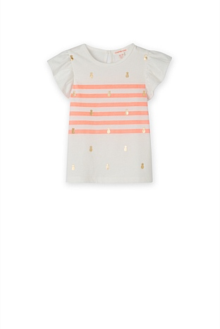 Pineapple Stripe T-Shirt