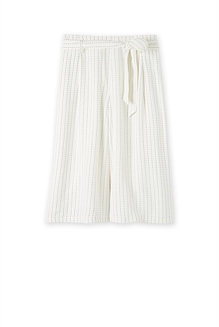 Soft Stripe Culotte