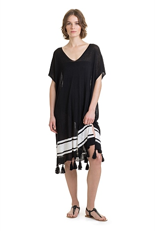 Knit Stripe Kaftan