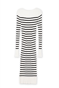 Bateau Stripe Dress