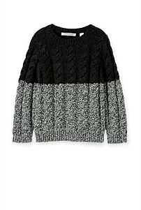 Cable Block Knit