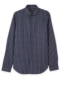 Slim Mid Windowpane Shirt