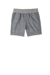 Cross Print Short