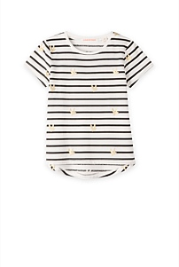 Bird Stripe T-Shirt