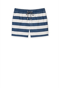 Printed Stripe Swim Short