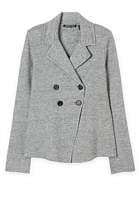 Tailored Knit Jacket