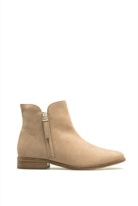 Sandie Zip Flat Boot