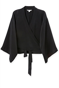Heavy Silk Wrap Jacket