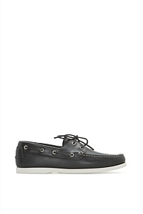 Flynn Leather Boat Shoe