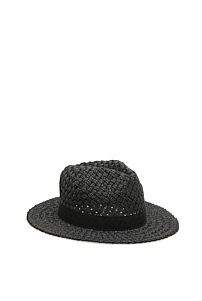 Textured Woven Trilby