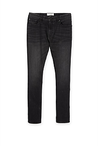 Slim Washed Black Jean