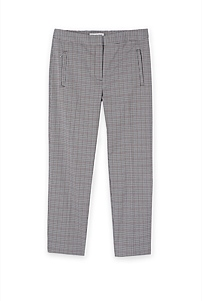 Houndstooth Cigarette Pant