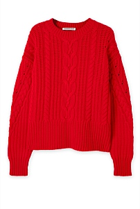 Cable Swing Knit