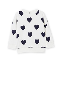 Heart Sweat Top