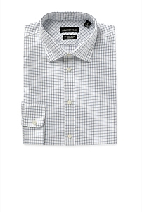 Regular Grid Travel Shirt
