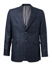 Regular Windowpane Blazer