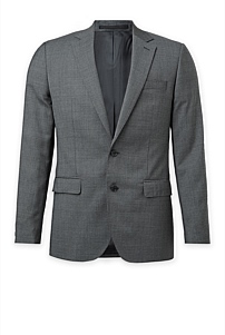 Slim Puppytooth Stretch Jacket
