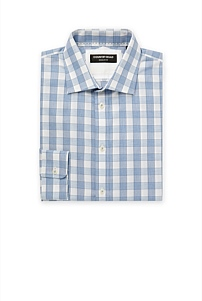 Regular Melange Frame Gingham Shirt
