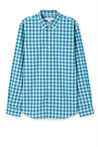 Long Sleeve Regular Large Gingham Shirt