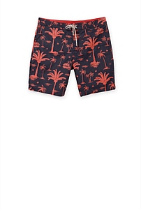 Beach Print Board Short