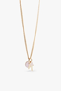 K Charm Necklace