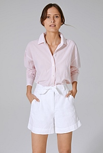 Relaxed Button Through Shirt