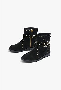 Stud Buckle Boot