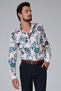 Slim Tropical Shirt