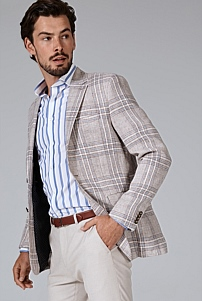 Slim Check Blazer