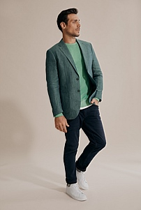 Slim Textured Blazer