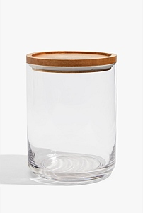 Theo Large Glass Canister