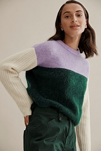 Colour Block Knit