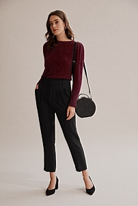 Slouch Tinsel Knit