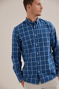 Regular Windowpane Shirt