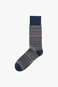 Winter Pattern Sock