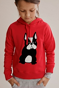 Frenchie Hooded Sweat