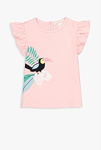 Toucan Flower T-Shirt