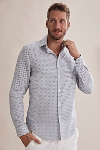 Slim Tile Shirt